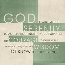 serenity prayer,12 tep therapy groups, addictions